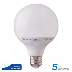 Żarówka LED V-TAC SAMSUNG CHIP 17W E27 GLOBE G120 VT-218 6400K 1521lm 5 Lat Gwarancji