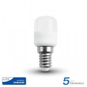 Żarówka LED V-TAC SAMSUNG CHIP 2W E14 Tablicowa Do Lodówek ST26 VT-202 3000K 180lm 5 Lat Gwarancji