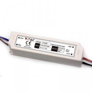 Zasilacz LED V-TAC 60W 12V 5A IP67 Hermetyczny Filtr EMI VT-22061