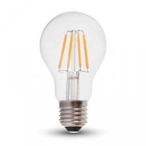 Żarówka LED V-TAC 4W Filament E27 A60 VT-1885 2700K 400lm