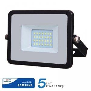 Projektor LED V-TAC 20W SAMSUNG CHIP Czarny VT-20 6400K 1600lm 5 Lat Gwarancji