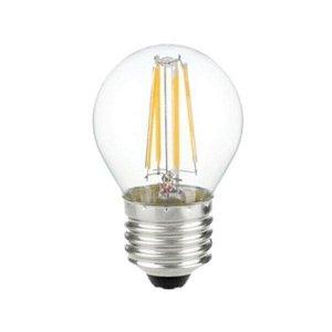 Żarówka LED V-TAC 4W Filament E27 G45 P45 Kulka VT-1980 6400K 400lm