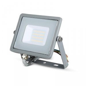 Projektor LED V-TAC 20W SAMSUNG CHIP Szary VT-20 4000K 1600lm 5 Lat Gwarancji