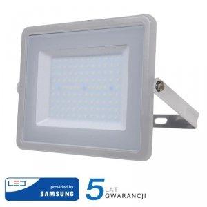 Projektor LED V-TAC 100W SAMSUNG CHIP Szary VT-100 3000K 8000lm 5 Lat Gwarancji