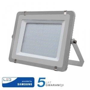 Projektor LED V-TAC 300W SAMSUNG CHIP Szary VT-300 6400K 24000lm 5 Lat Gwarancji
