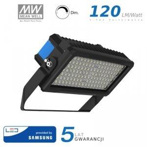 Projektor LED V-TAC 250W SAMSUNG CHIP Mean Well Driver Ściemnialny IP66 60st VT-252D 4000K 30000lm 5 Lat Gwarancji