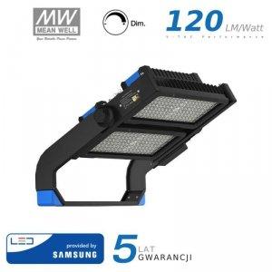 Projektor LED V-TAC 500W SAMSUNG CHIP Mean Well Driver Ściemnialny IP66 60st VT-502D 4000K 60000lm 5 Lat Gwarancji