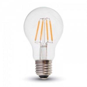 Żarówka LED V-TAC 4W Filament E27 A60 Przezroczysta VT-1885 4000K 400lm