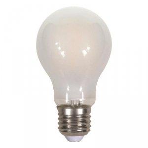 Żarówka LED V-TAC 7W Filament E27 A60 A++ Mrożona VT-2047 2700K 840lm