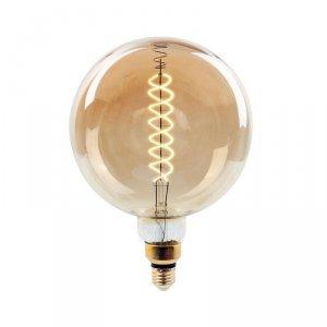 Żarówka LED V-TAC 8W Filament E27 G200 Ściemnialna VT-2158D 2000K 500lm