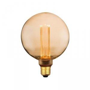 Żarówka LED V-TAC 4W EDISON RETRO E27 G125 Bursztynowa 200K VT-2195 1800K 200lm