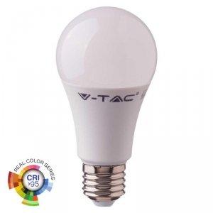 Żarówka LED V-TAC 10W E27 A60 CRI95+ VT-2210 6400K 806lm