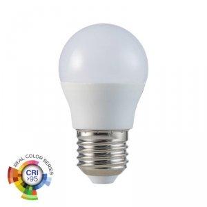 Żarówka LED V-TAC 5.5W E27 G45 Kulka CRI95+ VT-2216 4000K 470lm