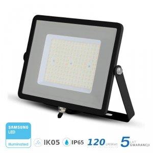 Projektor LED V-TAC 100W SAMSUNG CHIP SLIM Czarny 120lm/W VT-106 4000K 12000lm 5 Lat Gwarancji