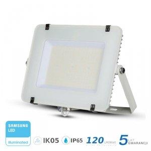 Projektor LED V-TAC 150W SAMSUNG CHIP SLIM Biały 120lm/W VT-156 4000K 18000lm 5 Lat Gwarancji