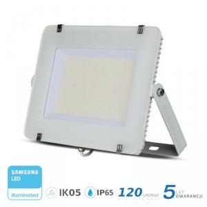 Projektor LED V-TAC 200W SAMSUNG CHIP SLIM Biały 120lm/W VT-206 6400K 24000lm 5 Lat Gwarancji