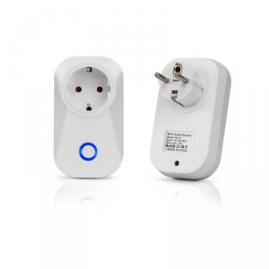 Gniazdo Adapter Przelotka WiFi V-TAC Amazon Alexa, Google Home, Nest VT-5001
