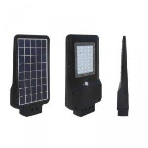 Oprawa Uliczna Solarna 15W LED Czarna ST-15 4000K 1600lm