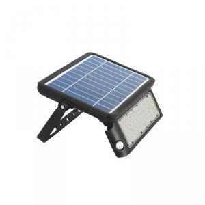 Projektor Solarny 10W LED Czarny IP65 V-TAC VT-787-10 4000K 1100lm