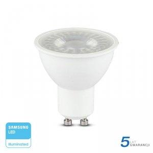 Żarówka LED V-TAC SAMSUNG CHIP GU10 8W 110st VT-292 3000K 720lm 5 Lat Gwarancji