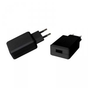 Ładowarka USB SZYBKA QC3.0 AC 3.6-6.5V 3.0A V-TAC Czarna VT-1026