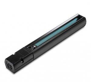 Szyna Szynoprzewód Track Light 2 Metry Czarny 3 Fazowy (w komplecie złącze zasilające i zaślepka) V-TAC