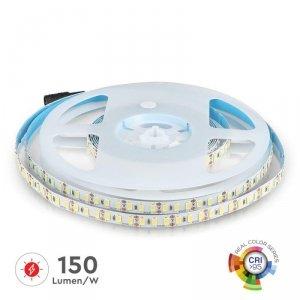 Taśma LED V-TAC SMD5730 600LED High Lumen CRI95+ IP20 18W/m VT-5730 6000K 3000lm