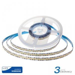 Taśma LED V-TAC SAMSUNG CHIP 2835 1200LED 24V IP20 10mb 15W/m VT-2835 6000K 1600lm 3 Lata Gwarancji