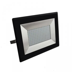 Projektor LED V-TAC 100W LED SMD E-Series Czarny VT-40101 4000K 8500lm