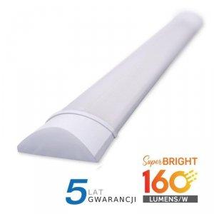 Oprawa V-TAC 30W LED Liniowa Natynkowa 120CM 160lm/W VT-8330 3000K 4800lm 5 Lat Gwarancji