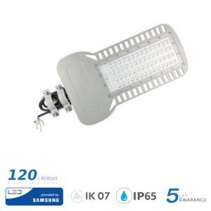 Oprawa Uliczna LED V-TAC SAMSUNG CHIP 150W Soczewki 110st 120lm/W VT-154ST 6400K 18000lm 5 Lat Gwarancji