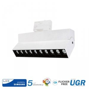 Oprawa LED V-TAC 25W Track Light SAMSUNG CHIP CRI90+ Biała VT-431 4000K 2000lm 5 Lat Gwarancji