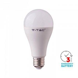 Żarówka Awaryjna LED V-TAC SAMSUNG CHIP 3h 9W E27 VT-2309 4000K 806lm
