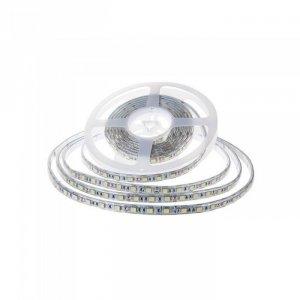 Taśma LED V-TAC SMD2835 1200LED 24V IP65 2xPCB RĘKAW 10mb 7,2W/m 120LED/m VT-2835 4000K 600lm