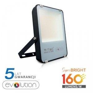 Projektor LED V-TAC 100W Czarny EVOLUTION 160lm/W VT-49161 4000K 16000lm 5 Lat Gwarancji