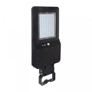 Oprawa Uliczna Solarna V-TAC 40W LED Czarna IP65 120lm/W VT-ST42 4000K 4800lm 3 Lata Gwarancji