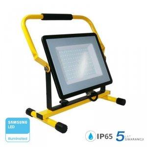 Projektor Przenośny LED V-TAC 100W SAMSUNG CHIP IP65 3mb VT-109 4000K 8000lm 5 Lat Gwarancji