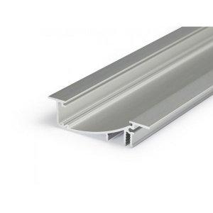 PROFIL LED FLAT8 H/UX 1M