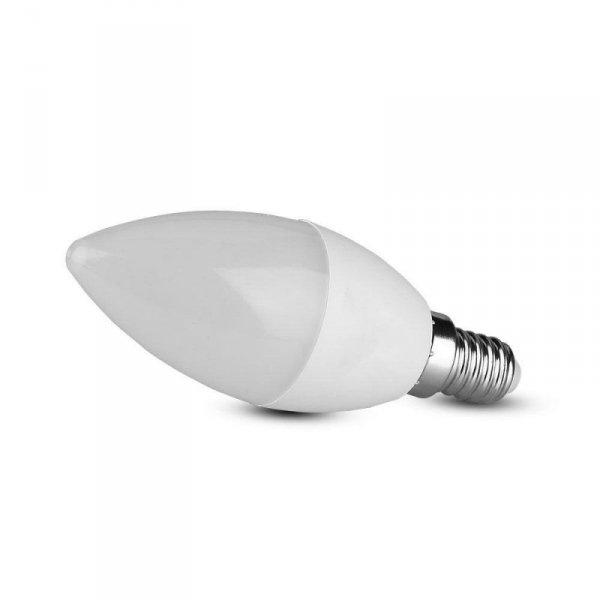 Żarówka LED V-TAC SAMSUNG CHIP 7W E14 Świeczka VT-268 3000K 600lm 5 Lat Gwarancji