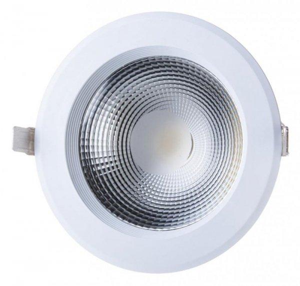 Oprawa 30W LED V-TAC COB Downlight Okrągły A++ 120lm/W VT-26301 6000K 3600lm
