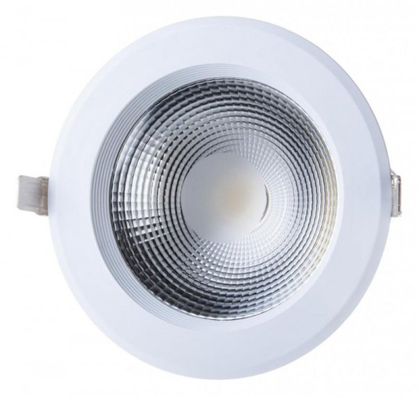 Oprawa 40W LED V-TAC COB Downlight Okrągły A++ 120lm/W VT-26451 4000K 4800lm