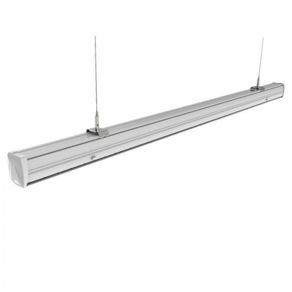 Linia Świetlna Kompletna V-TAC 50W LED Soczewka Podwójna Asymetryczna VT-4551D 4000K 8000lm 5 Lat Gwarancji