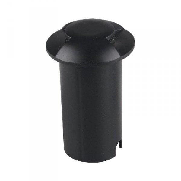 Oprawa Gruntowa 1W LED Czarna 2-stronna IP67 VT-1161 6500K 10lm
