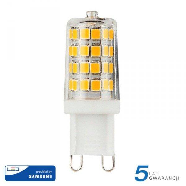 Żarówka LED V-TAC SAMSUNG CHIP 3W G9 VT-204 6400K 300lm 5 Lat Gwarancji