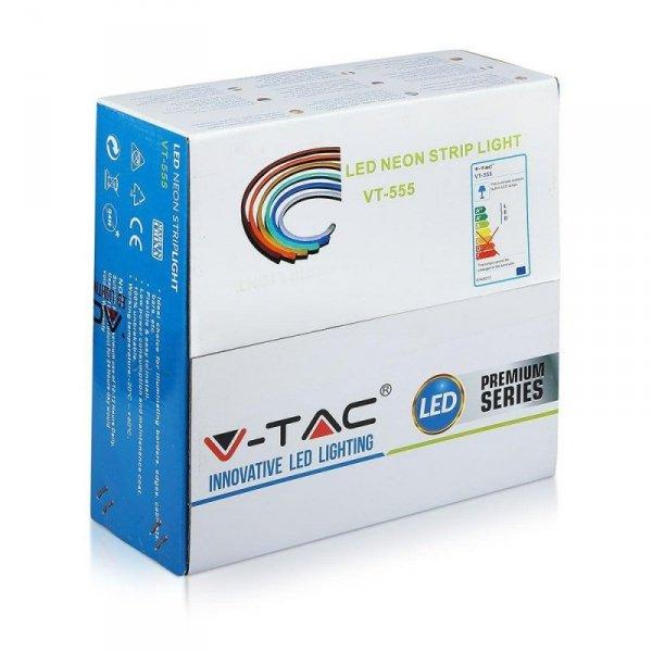 Neon Flex 24V 10mb 8W/m V-TAC VT-555 4000K 320lm