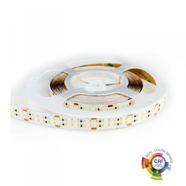 Taśma LED Podwójna V-TAC 1800LED 24V IP20 30W/m CRI95+ VT-2216 6000K 2400lm 3 Lata Gwarancji