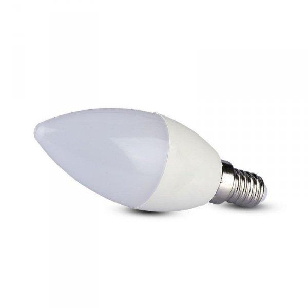 Żarówka LED V-TAC SAMSUNG CHIP 4.5W E14 A++ Świeczka VT-255 4000K 470lm 5 Lat Gwarancji