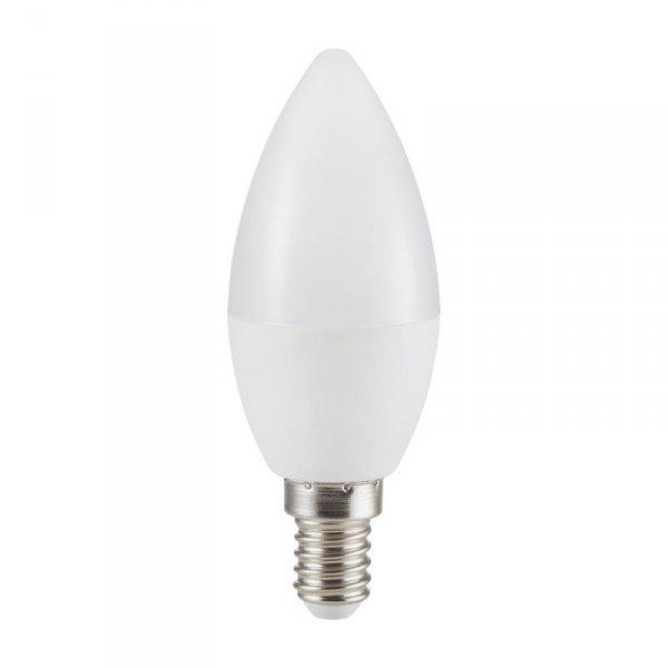 Żarówka LED V-TAC 5.5W E14 Świeczka (Opak. 6szt) VT-2246 6400K 470lm