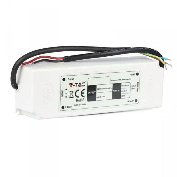 Zasilacz LED V-TAC 100W 12V 8.3A IP67 Hermetyczny Filtr EMI VT-22105 5 Lat Gwarancji