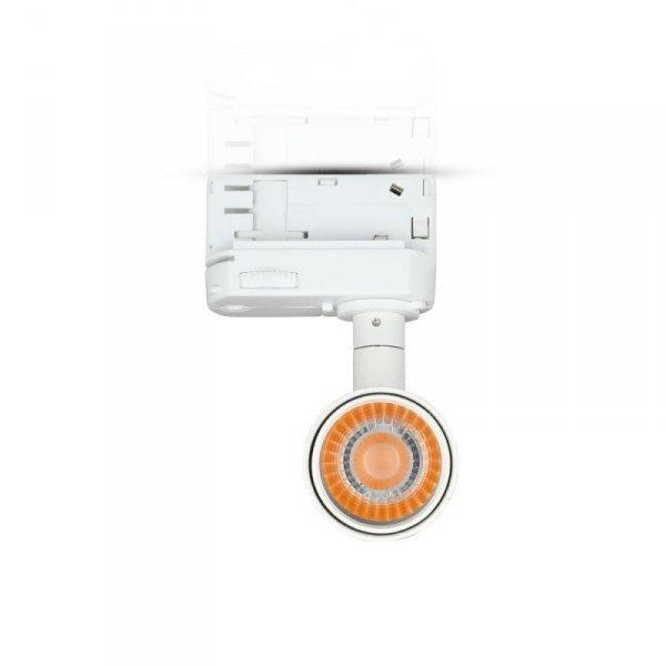 Oprawa 7W LED V-TAC Track Light SAMSUNG CHIP CRI90+ Biała VT-407 3000K 420lm 5 Lat Gwarancji